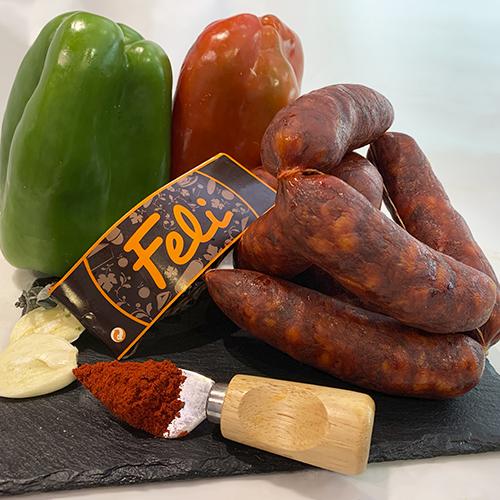 Chorizo gallego dulce/picante
